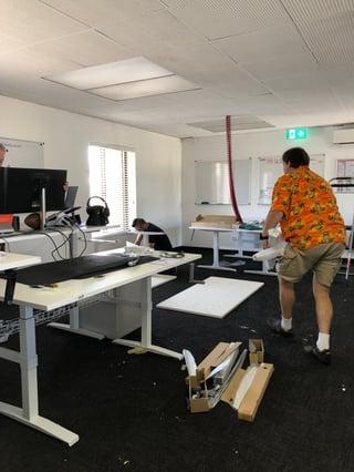 Standing Desk Install
